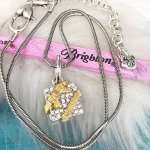 Brighton WISHFUL GIFT Crystal Add a Charm Necklace
